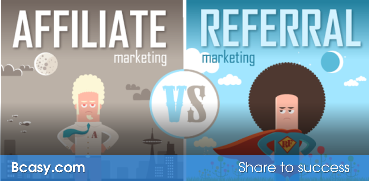 Khác biệt giữa Affiliate và Referral Marketing